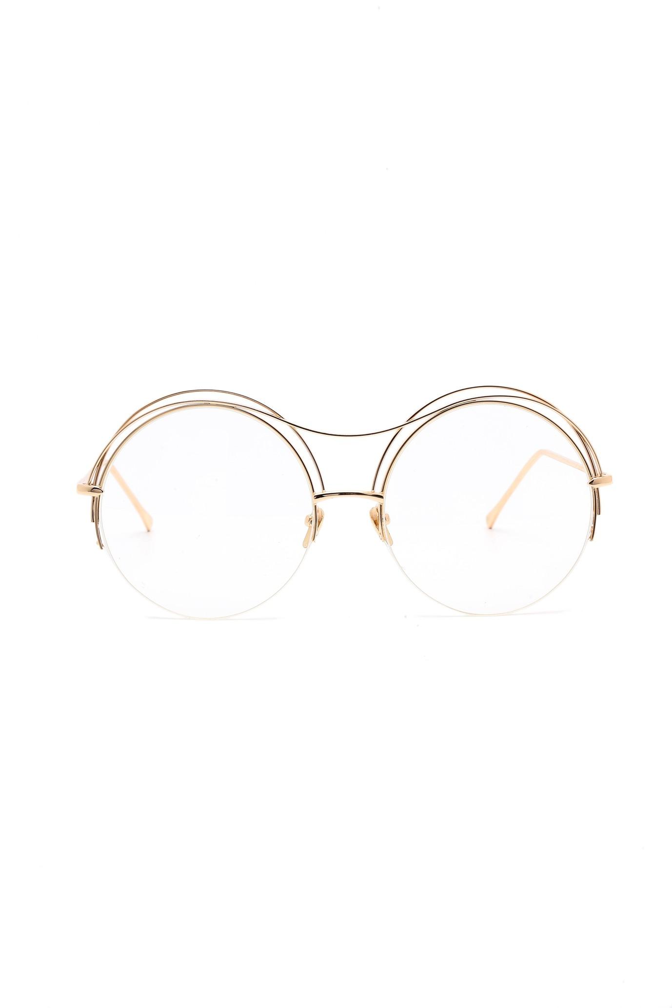 202ff37a1c Designed Golden Thin Frame Sunglasses HOPE - Sunglasses - Accessories