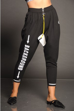 Black Pants Zipper BACKGROUD
