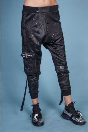 Black Jogger Sacky Pants TOY