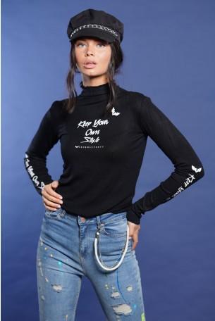 Black Turtleneck Shirt STYLE