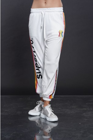 Designed White Jogger  Pants SUPER 770