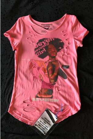 Pink Limited Edition T Shirt SEVEN GIRL