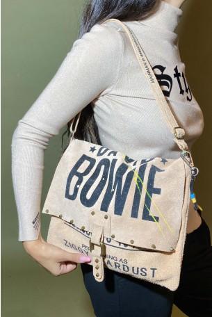 Beige Handmade Unique Bag BOWIE