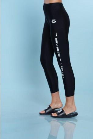 Black Lycra Leggings STORY