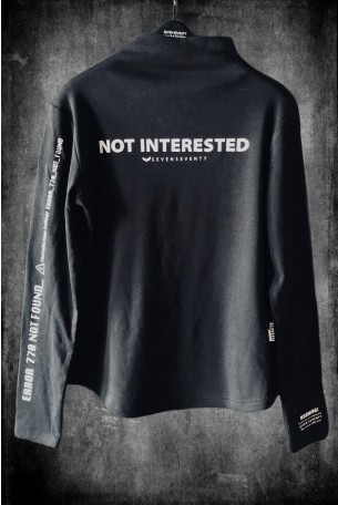 Black Long Sleeve  Top NOT INTERESTED