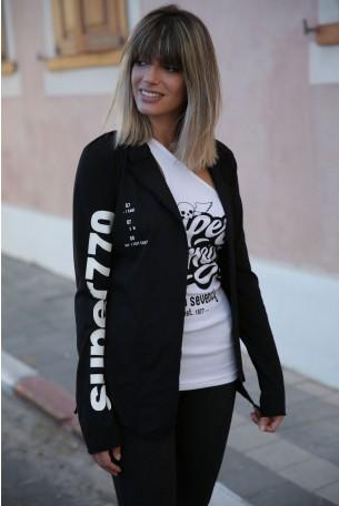 Decorated Black  Jacket  SUPER 770