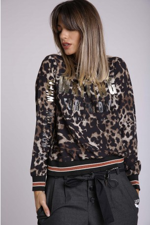 Leopard Long Sleeves Top WAITING