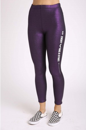 Purple Leggings STORY