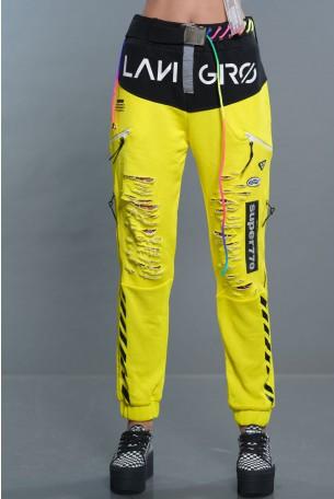 Neon Yellow Pants SUPER770