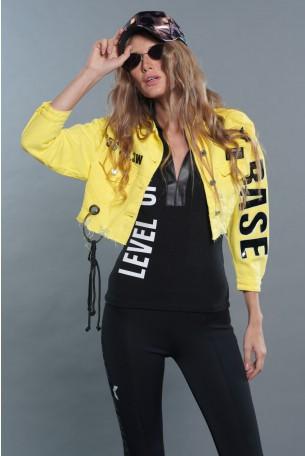 Yellow Denim Jacket BASE