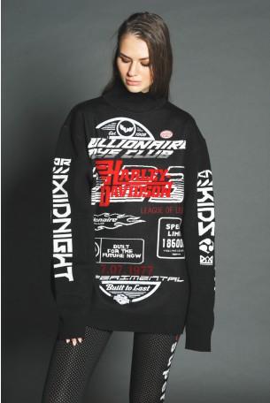 Black Knit Tunic HARLEY