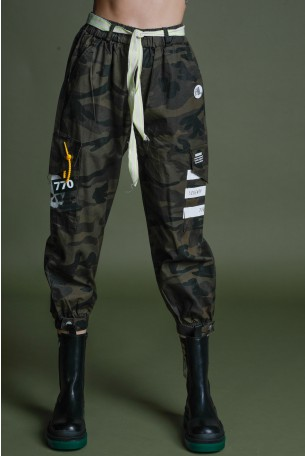 Camouflage Cargo Pants SKULL