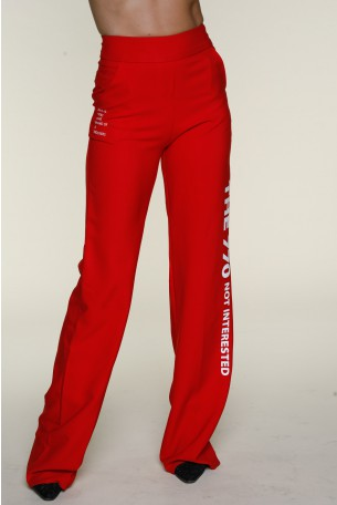 Red Elegant Pants INTERESTED