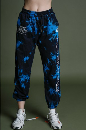 Black And Blue Joggers ADVENTURE