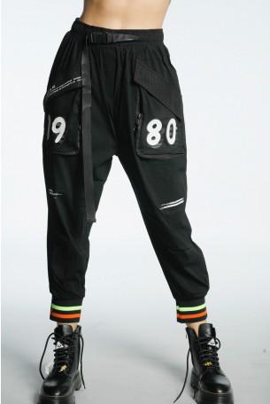 Black Jogger Pants ATTITUDE