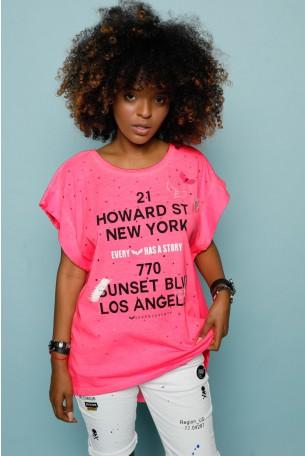 Pink T-shirt HOWARD