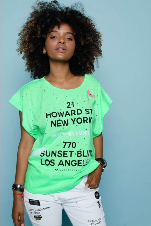 Green T-shirt HOWARD