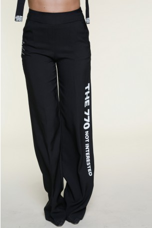 Black Elegant Pants INTERESTED