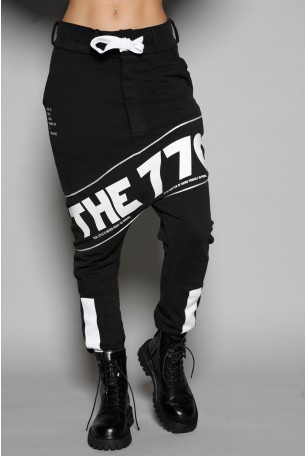 Designed Black Pullover Joggers THE 770