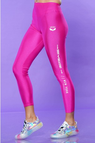 Pink Lycra Leggings STORY
