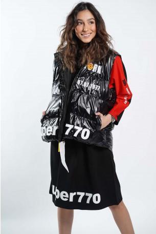 Decorated Black Vest SUPER770