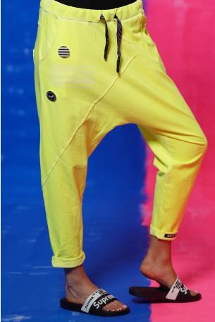 Neon Yellow Jogger Pants STORY