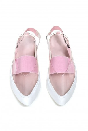 Transparent  Shoes  PINK CANDY
