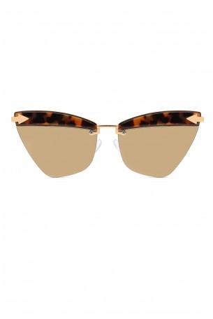 Designed Brown Frame Sunglasses  ERROW
