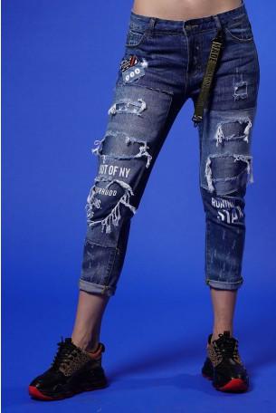 Blue Denim Pants STAR