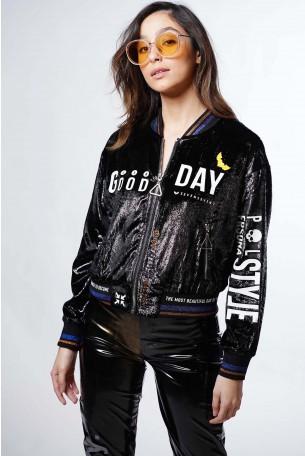 Black Velvet Jacket GOOD DAY
