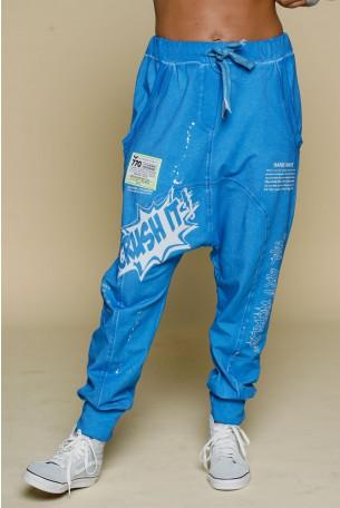 Blue Color Jogger Pants CRUSH