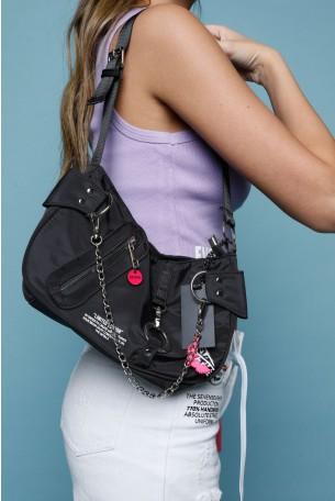 Black  Purse Side Bag SEVENTY
