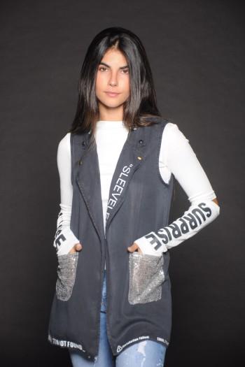 Dark Grey Vest HAPPENS