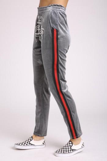 Designed Jogger Gray Pants SUPER
