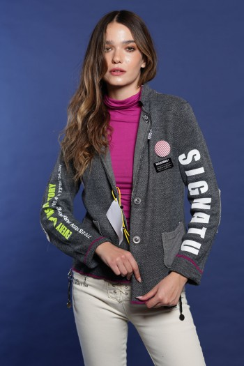 Gray Blazer Jacket SIGNATURE
