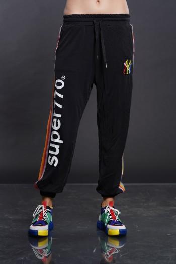 Designed Black Jogger  Pants SUPER 770
