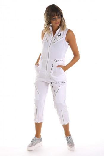 White Designed Overall SEVEN