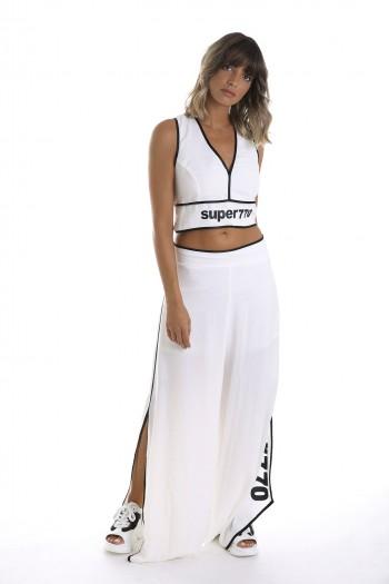 White Pants & Tank Suit SUPER SEVEN