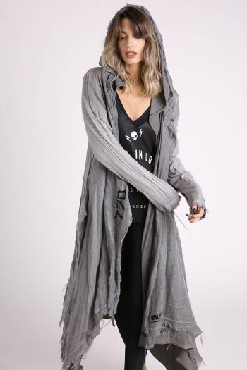 Long Gray Jacket HOME