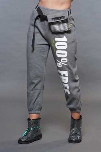Gray Jogger Pants FREE