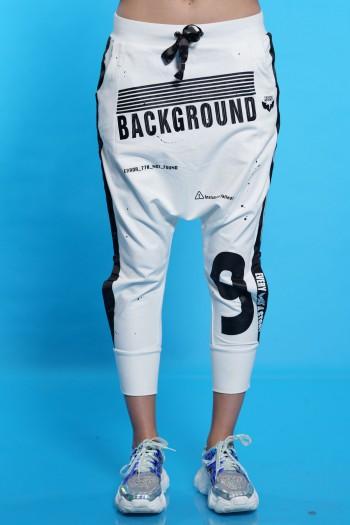 White Sacky Pants BACKGROUND