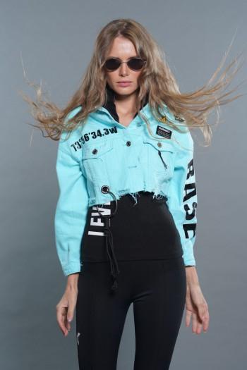 Light Blue Denim Jacket BASE