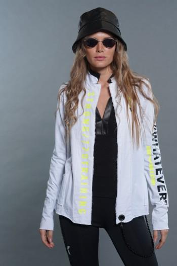 White Blazer Jacket WHATEVER
