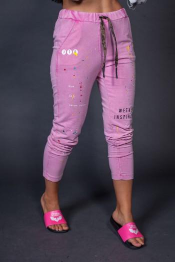Pink Jogger Pants WEEKEND