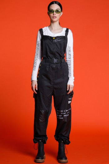 Black  No Sleeve Long Overall FOREVER