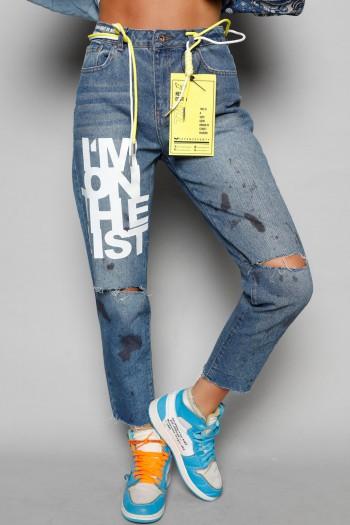 Blue Denim Pants LIST