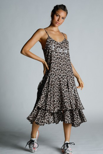 Leopard Maxi Dress ONLY