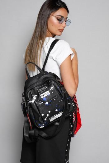 Black Handmade Unique Back Pack  COLORS