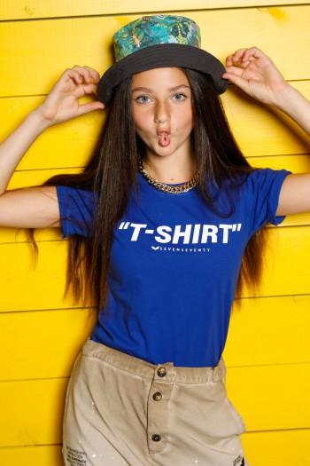 Blue Kids T Shirt  T SHIRT