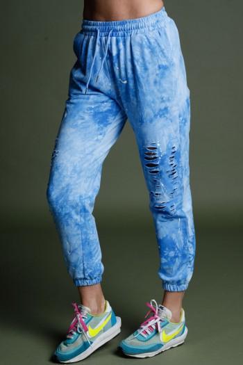 Light Blue Jogger Pants NY